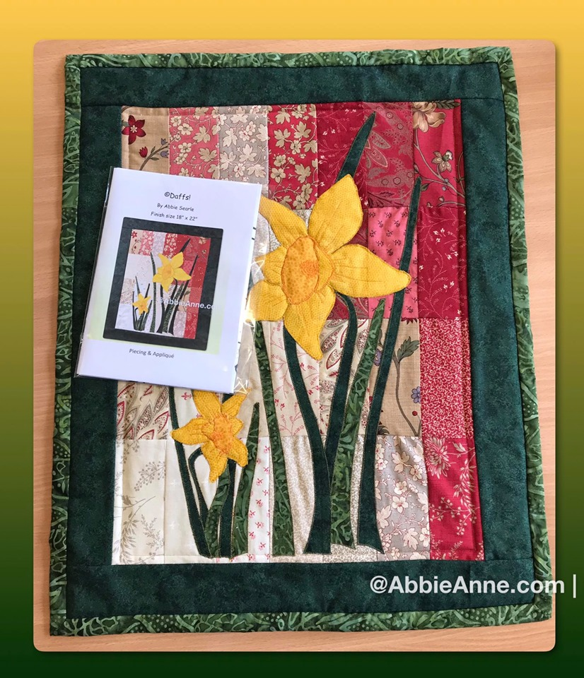 Picture of Daffodil wall hanging