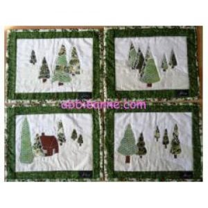 Christmas table mats
