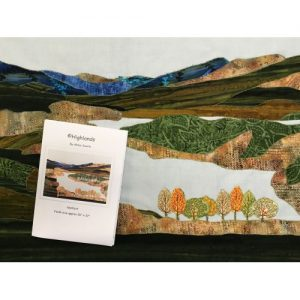 Textile art picture