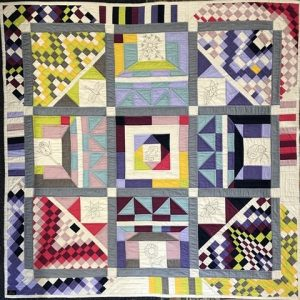 A Colourful outlook on life quilt
