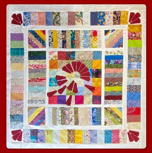 Drop the Dresden quilt