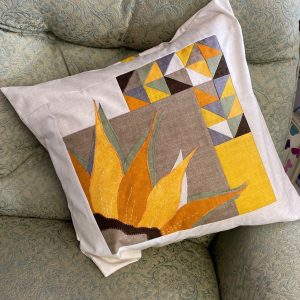 Sunflower Quarter cushion