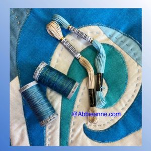 Blue Thread set